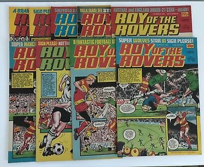 Roy of the Rovers Comic Collection X 9 - From 3rd Mar 84 To 28th Apr 84 - Good