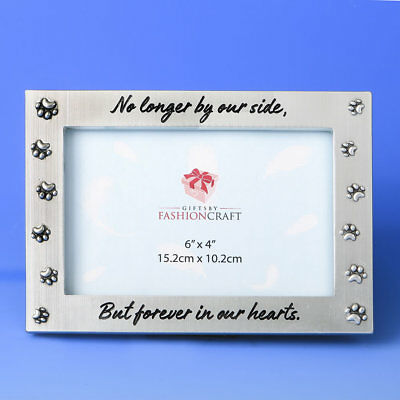 Pet Memorial Photo Frame No Longer By Our Side But Forever In Our Hearts