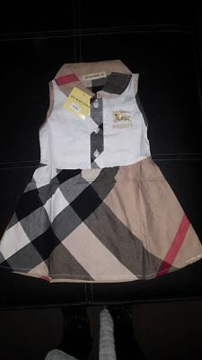 ROBE    BURBERRY    taille 6 mois - EUR 1,00   PicClick FR 68a1324249a7