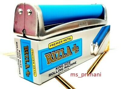 Genuine KING SIZE RIZLA Premium Metal Cigarette Rolling Machine Fag Cigarette