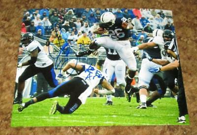 Saquon Barkley Autographed Penn State Nittany Lions 8X10 Photo #1 (Proof) Nfl