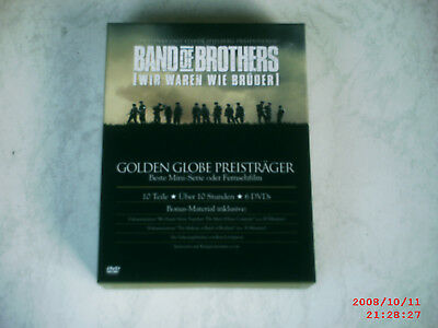 BAND OF BROTHERS - 6 DVD Box - FSK 18