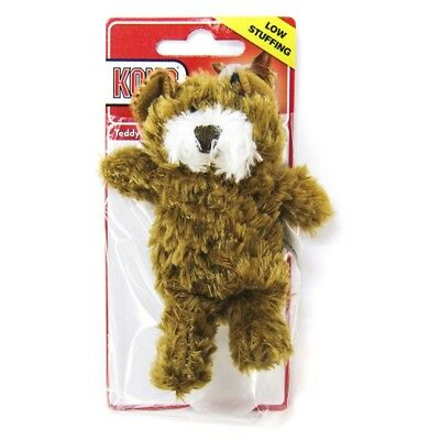 Kong Xs Tiny Puppy Dog Toy 10 Cm Teddy Bear Low Stuffing Toy + Extra Squeak