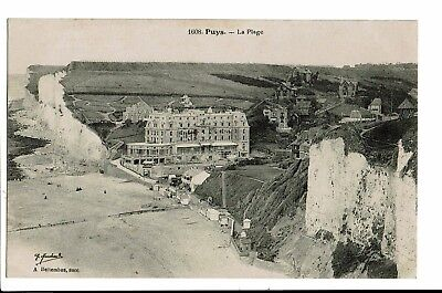 CPA-Carte postale France - Puys -Sa Plage -S3487