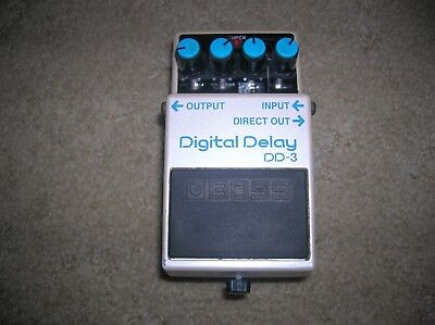 Boss DD-3 Delay Guitar Effect Pedal