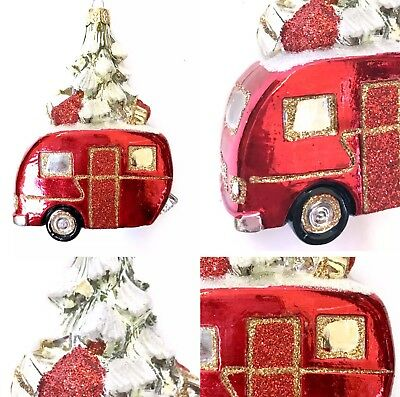Rv Christmas Tree Holiday Fifth Wheel Camper Tree Ornament Camping
