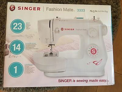 Singer Fashion Mate 23-Stitch Electric Sewing Machine with Automatic Needle in