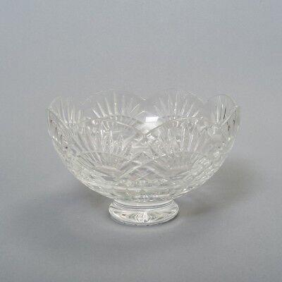 "Beautiful Footed Waterford Crystal Bowl 6"" Tall 9-7/8"" Diameter"