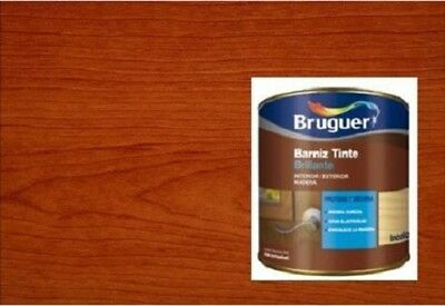 Barniz tinte Bruguer brillante Cerezo 750 Ml