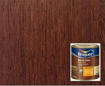 Barniz tinte Bruguer brillante Roble 750 Ml