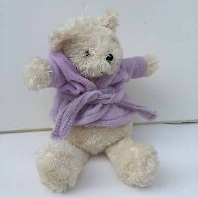 Avon Healthy Remedies Lavender Scented Bear Plush Stuffed Animal in Robe 12""