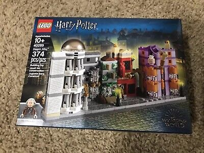LEGO 40289 Harry Potter Diagon Alley 374pcs New In Hand Free Shipping