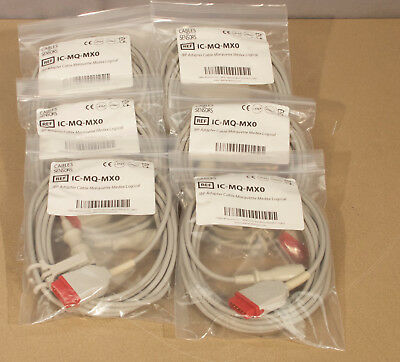 Cables And Sensors IC-MQ-MX0 IBP Adapter Cable - Lot Of 6  (R4)