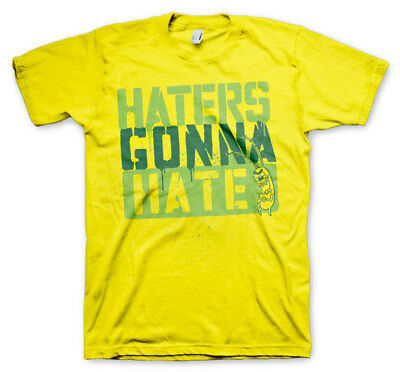 Official Licensed SpongeBob Squarepants - Haters Gonna Hate Men's T-Shirt S-3XL