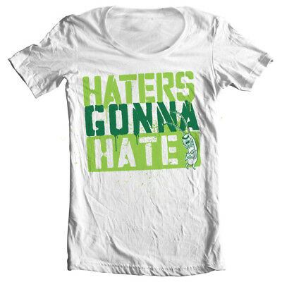 Official SpongeBob Squarepants - Haters Gonna Hate Wide Neck Ladies T-Shirt