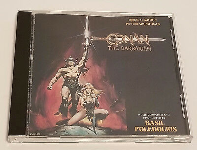 Conan The Barbarian Original Motion Picture Soundtrack Composed by Basil Poledou