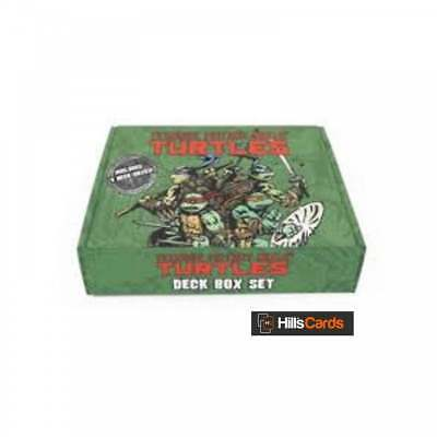 Teenage Mutant Ninja Turtles Deck Box Set - 4 Deck Boxes - Nickelodian