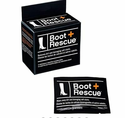 BOOT RESCUE Cleaning wipes-Removes dirt & salt-10 wipes