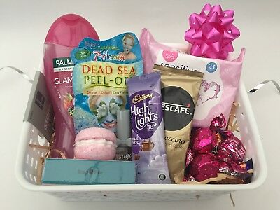 Womens Beauty Pamper Hamper Thank You Gift Birthday Present Box For Her