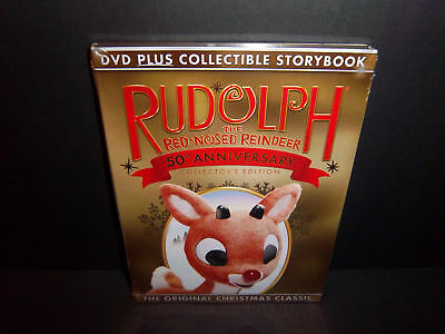 Rudolph the Red-Nosed Reindeer 1964 - 50th Anniversary Collector's Edition DVD!!