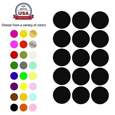 Permanent Adhesive Labels 30mm Color Coding Stickers Invitation Seals 1.18 Inch