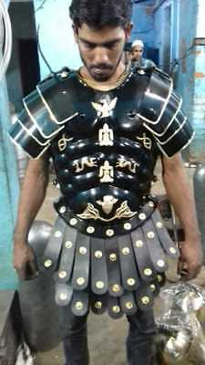 iron Medieval Muscle Armor Collectible Wearable Roman Heavy Chestpl+exp.shipping