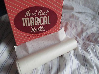 MARCAL BARBER CHAIR HEAD REST PAPER ROLLS, THE ORIGINAL   1-roll