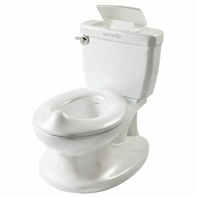 Summer Infant My Size Potty Baby Kid's Toilet Trainer Seat Flip Up Chair White
