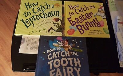 How to Catch a Leprechaun, Tooth Fairy, Easter Bunny Books. 🙄**