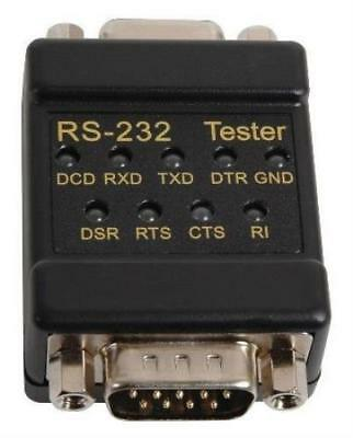 Tenma 72-9265 Cable Tester, Rs232/db9 In-Line Signal