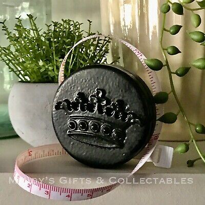 Antique Style Black Metal Tape Measure Great Gift Idea Craft Sewing Patchwork