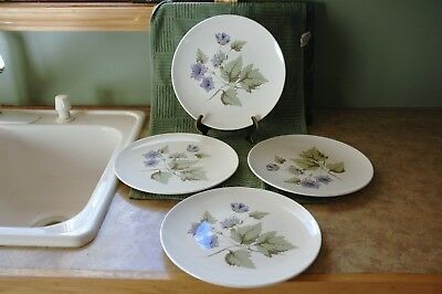 """Knowles - MILANO - Made in U.S.A. - 10 3/8"""" Dinner Plates (4)"""