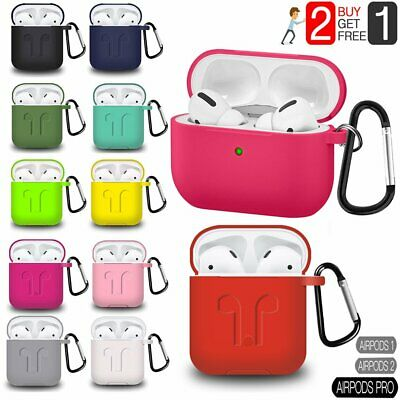 AirPods Silicone Case Cover Protective Skin NEW For Apple Airpod Charging Case