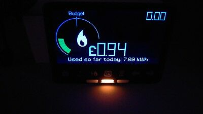 NEW!Chameleon IHD3-PPMID PrePayment Energy Monitor Cost Gas/Electricity Zigbee.