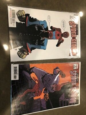 Edge of Spider-Geddon #3 - 2-Cover A And B Variant Set (2018) Latour/Zonjic