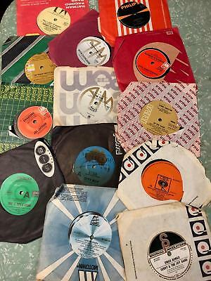 """Bulk Lot of over 100 Old 7"""" Vinyl LP Records - see photos"""