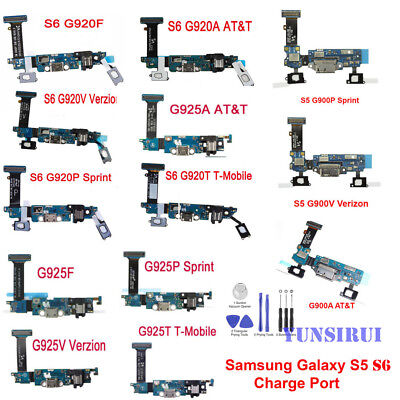 OEM For Samsung Galaxy S5 S6 S6 Edge Charger Charging Dock Port Mic Flex Cable