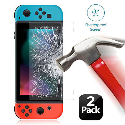 Ultra Clear Slim Premium Nintendo Switch Tempered Glass Screen Protector(2 Pack)