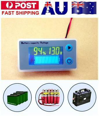 LCD Car Lead Lithium Battery Capacity Indicator Digital Voltmeter Voltage Tester