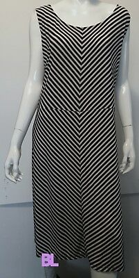 JONES NEW YORK Linen Color Block Midi Shift Dress 3X New$109 ...
