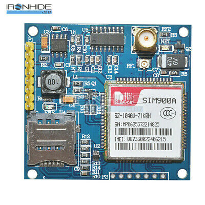 SIM900A 1800/1900 MHz Wireless Extension Module GSM GPRS Shield Board + Antenna