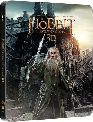 The Hobbit: The Desolation of Smaug 3D/2D - Limited Edition Blu-Ray Steelbook...