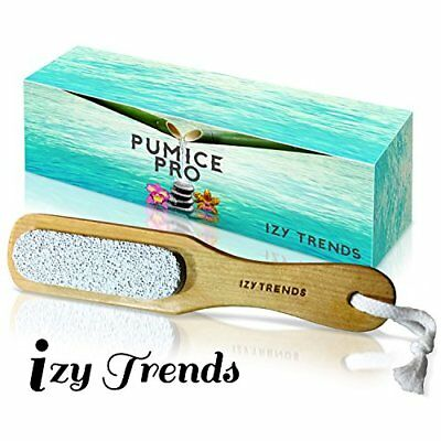 Pumice Stone - Better Grip With Handle And Less Mess - The Best Callus Remove...