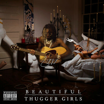 "X0435 Young Thug Beautiful Thugger Girls Album Cover Hip Hop 24x24"" Art Poster"