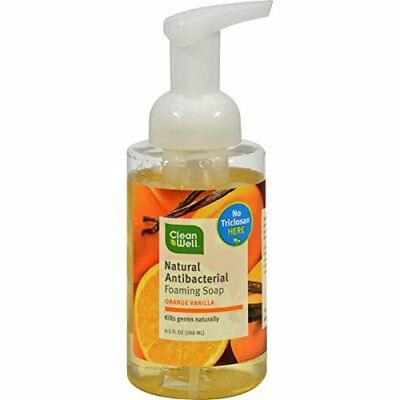 Cleanwell Soap Hand Orng Vnla