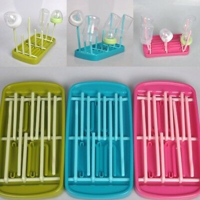 Baby Bottle Drying Rack Dryer Milk Nipple Toddler Dryer Teats Cups Feeding