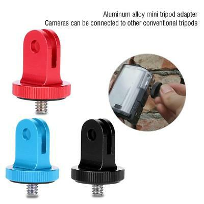 1/4 Inch Mini Tripod Mount Adapter Video Action Camera Accessory Aluminum Alloy