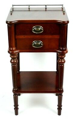 Vintage Mahogany Bedside Cabinets - FREE Shipping [PL4731]