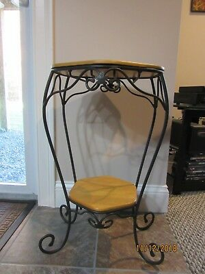 Longaberger Wrought Iron Generation Stand with Two Shelves