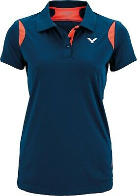 VICTOR Polo Function Female coral 6928 * Badminton Trikot Tennis Squash